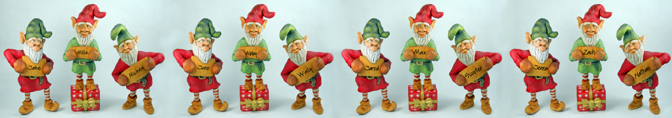 'Tis The Season elves by Dale Green collection