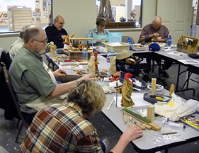 Dale Green woodcarving class