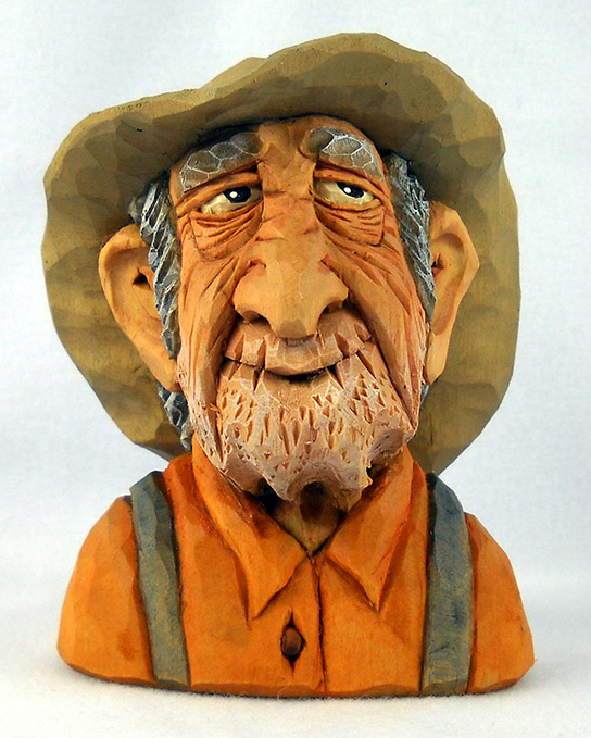dale green wood carving