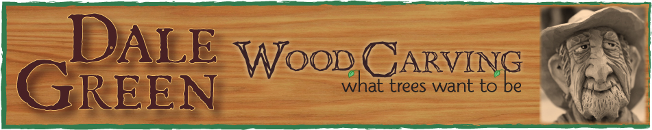 Dale Green Wood Carving | What Trees Want To Be